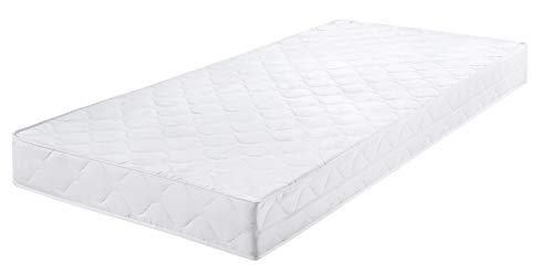 Badenia Bettcomfort Roll-Komfortmatratze, Trendline BT 100, Härtegrad 2, 100 x 200 cm, weiß