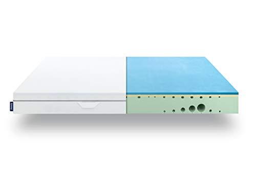EMMA One Matratze - 100x200 cm, Liegegefühl Medium - ergonomische 7 Zonen Matratze - atmungsaktiv - 100 Nächte Probeschlafen - Öko-Tex Zertifiziert - Entwickelt in Deutschland