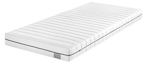 Traumnacht Basis Kaltschaummatratze, mit 7-Zonen-Schnitt für alle Schlaftypen H3, 140 x 190 cm, weiß