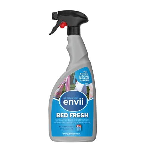 Envii Bed Fresh – Bio Matratzenreiniger und Geruchsentferner 750ml Spray für Matratze und Bettwäsche, Matratzen Reinigungsmittel