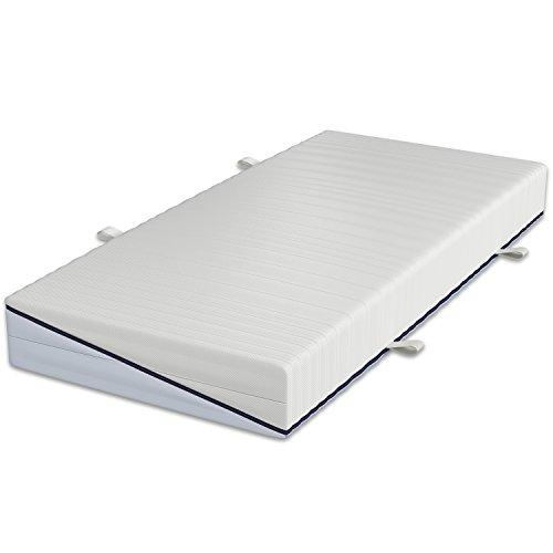 Schlaraffia Clever 35 TFK Taschenfederkernmatratze 100 x 200 cm H2 weich und H2 fest Wende-Matratze