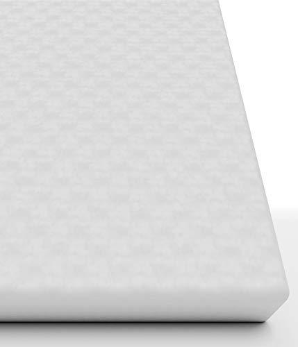 Rundum wasserdichter Matratzenschoner 90x200(Matratzendicke 15-19 cm)Atmungsaktive undurchlässige Matratzenauflage-Schützt auch die Seiten - Premium Molton Matratzenschutz ohne Knittergeräusche