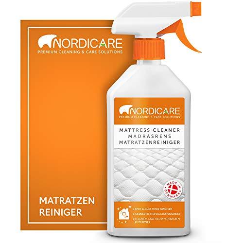 Nordicare Matratzenreiniger [500ml] Spray für Matratze und Bettwäsche, Matratzen Reinigungsmittel, Bettreiniger, Matratzen Reiniger Geruchsentferner