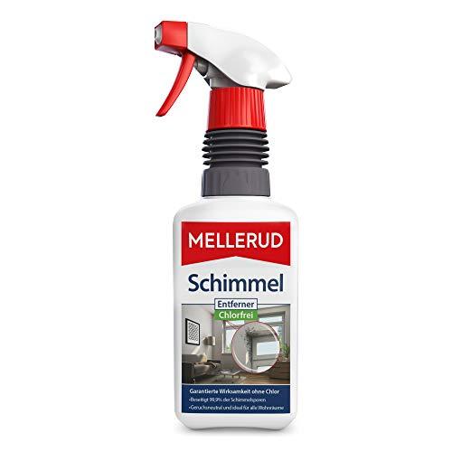 Mellerud Schimmel Entferner Chlorfrei – Geruchsneutraler Aktivschaum gegen Schimmel im gesamten Haushalt – 1 x 0,5 l
