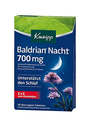 Kneipp Baldrian Nacht 700mg, 30 Tabletten