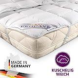 PROCAVE Matratzen-Schoner Micro-Comfort in Verschiedenen Größen, Matratzen-Auflage 100% aus Deutschland, Unterbett Soft-Matratzen-Topper, Matratzenschutz Boxspring-Betten geeignet, Made in Germany 180x210 cm