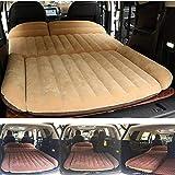 Sinbide Abziehbar Auto Luftmatratzen Luftbett Camping aufblasbare Matratze Isomatte Auto SUV MVP mit Pumpe (braun)