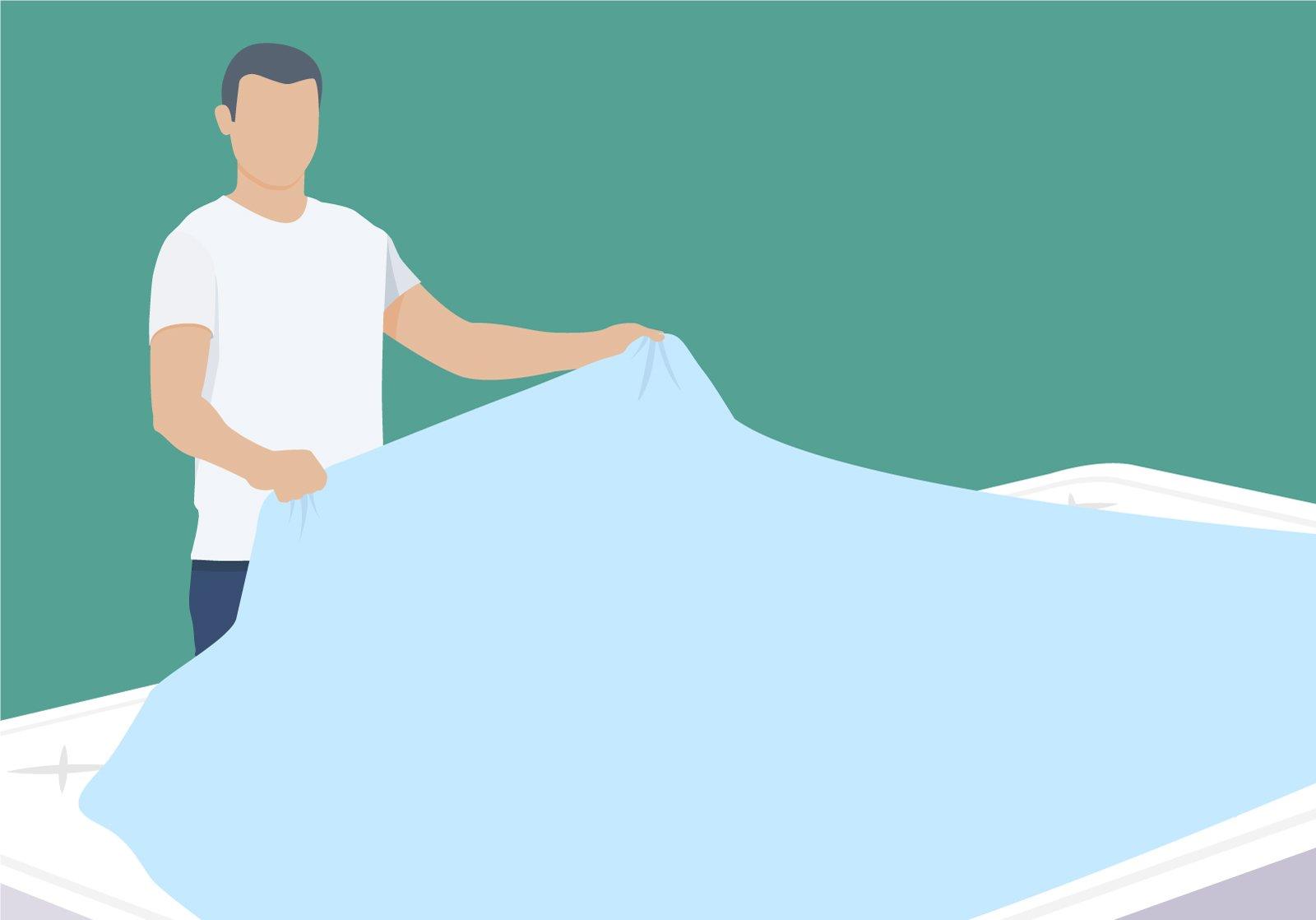 Unsere Tipps zum Wechseln der Bettwäsche