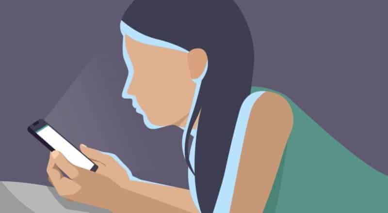 Blaues Licht: : Es hat einen Einfluss auf unsere innere Uhr.