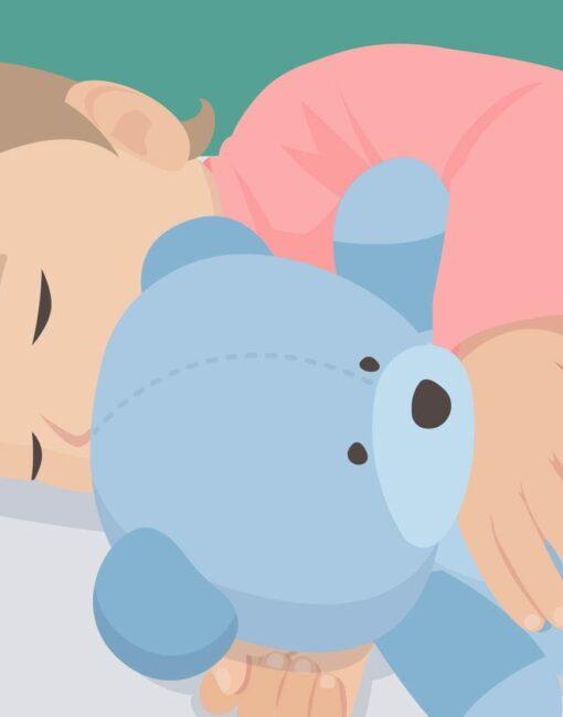 Einschlafhilfe: Babys müssen ihren individuellen Schlafrhythmus noch finden.