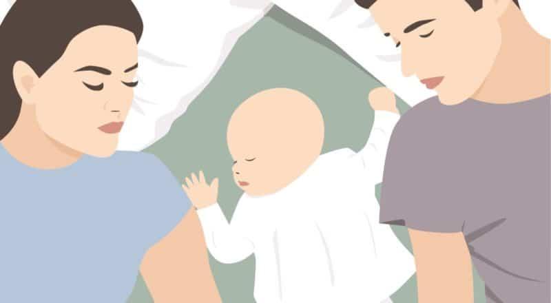 Co-Sleeping: Es soll die Bindung zwischen Eltern und Kind stärken.
