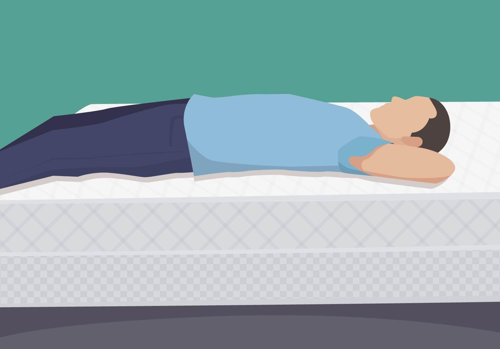 Fehler beim Matratzenkauf: Wer die falsche Matratze wählt, liegt unbequemer und riskiert u.a. Rückenschmerzen und Schlafprobleme.
