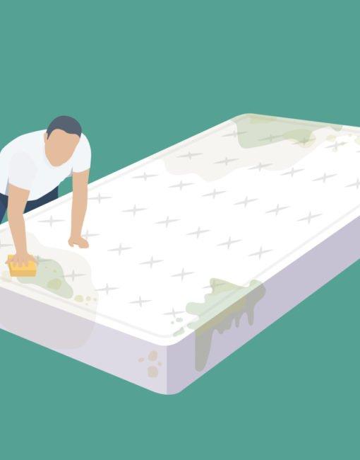 Tipps und Tricks zum Entfernen von verschiedenen Flecken aus der Matratze