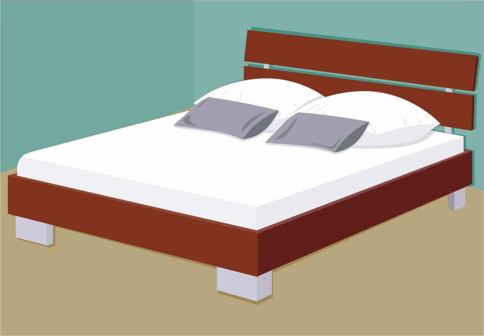 Französisches Bett: Es ist für Singles und Paare gleichermaßen geeignet.