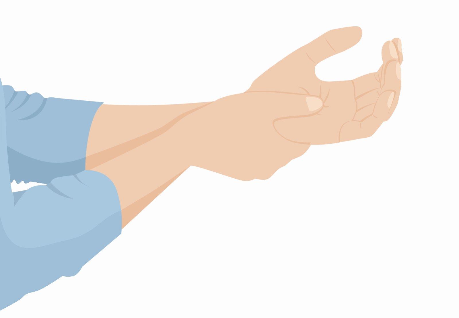 Hände schlafen nachts ein: Meistens ist das Einschlafen von Händen, Füßen oder anderen Körperteilen völlig harmlos.