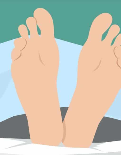 Tipps gegen kalte Füße im Bett