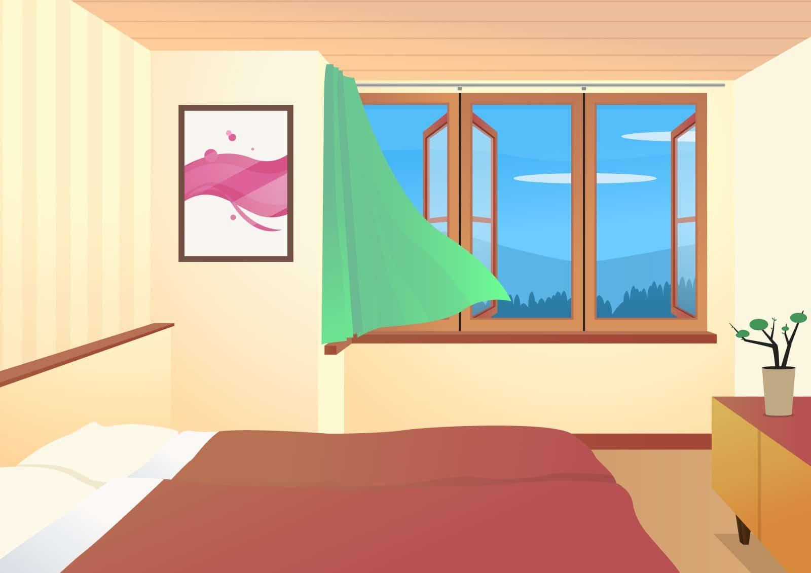 Raumklima und Luftfeuchtigkeit im Schlafzimmer