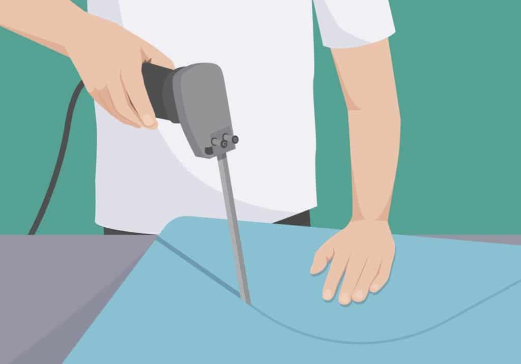 Matratze zuschneiden - nicht alle Matratzen können zugeschnitten werden