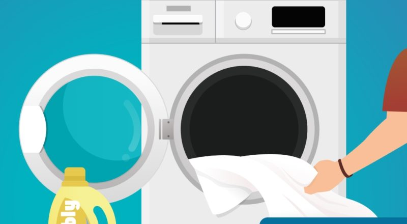 Matratzenbezug waschen - der Bezug bedarf besonderer Pflege