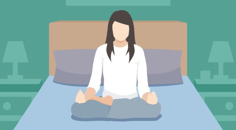 Meditation zum Einschlafen - besserer Schlaf durch einfache Entspannungsübungen