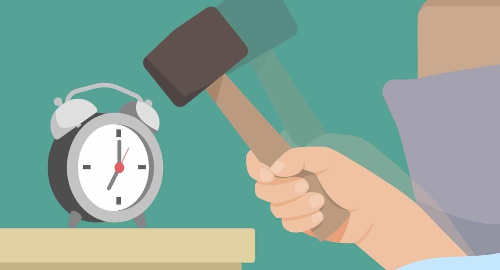 Morgenmuffel: das Leistungstief am Morgen ist genetisch bedingt