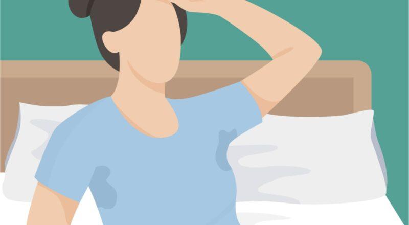 Nachtschweiß: Meist sind die Nachtschweiß-Ursachen eher harmlos.
