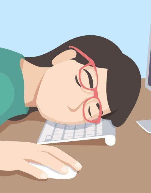 Narkolepsie: Das auffälligste Symptom ist ausgeprägte Tagesschläfrigkeit - verbunden mit chronischer Müdigkeit.