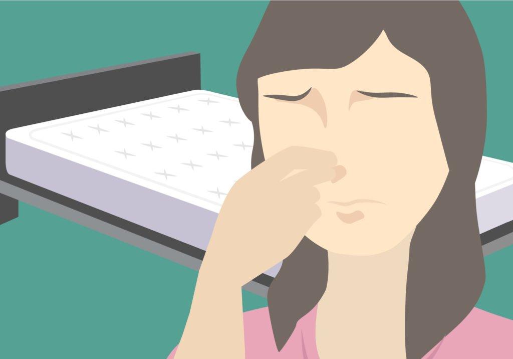 Wieso stinken neue Matratzen?