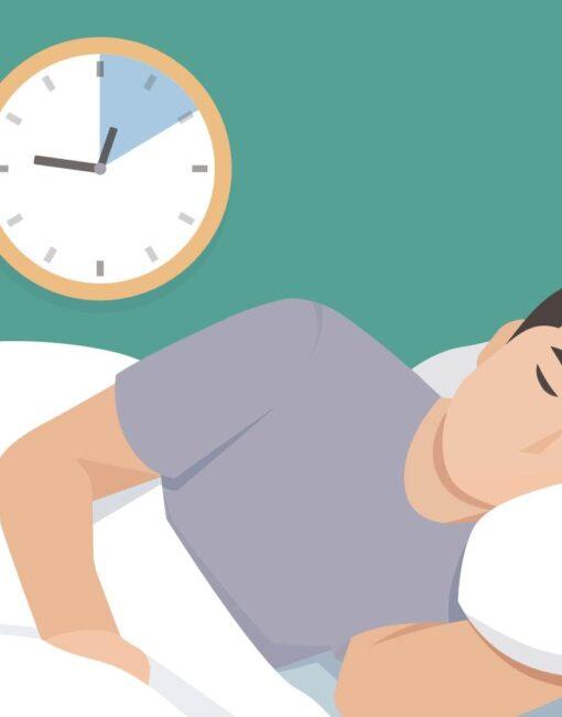 """Polyphasischer Schlaf: Die """"Hauptschlafzeit"""" wird verkürzt und durch Powernaps ergänzt."""