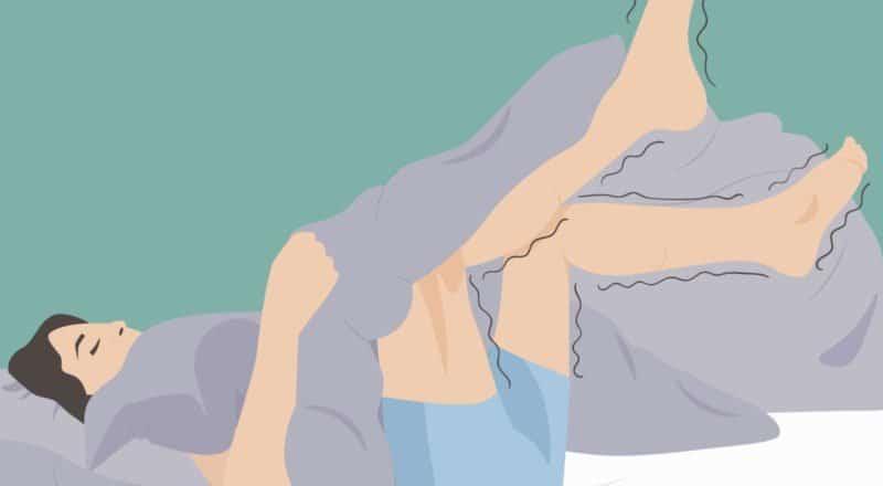 Restless-Legs-Syndrom: Es ist meist eine neurologische Störung.