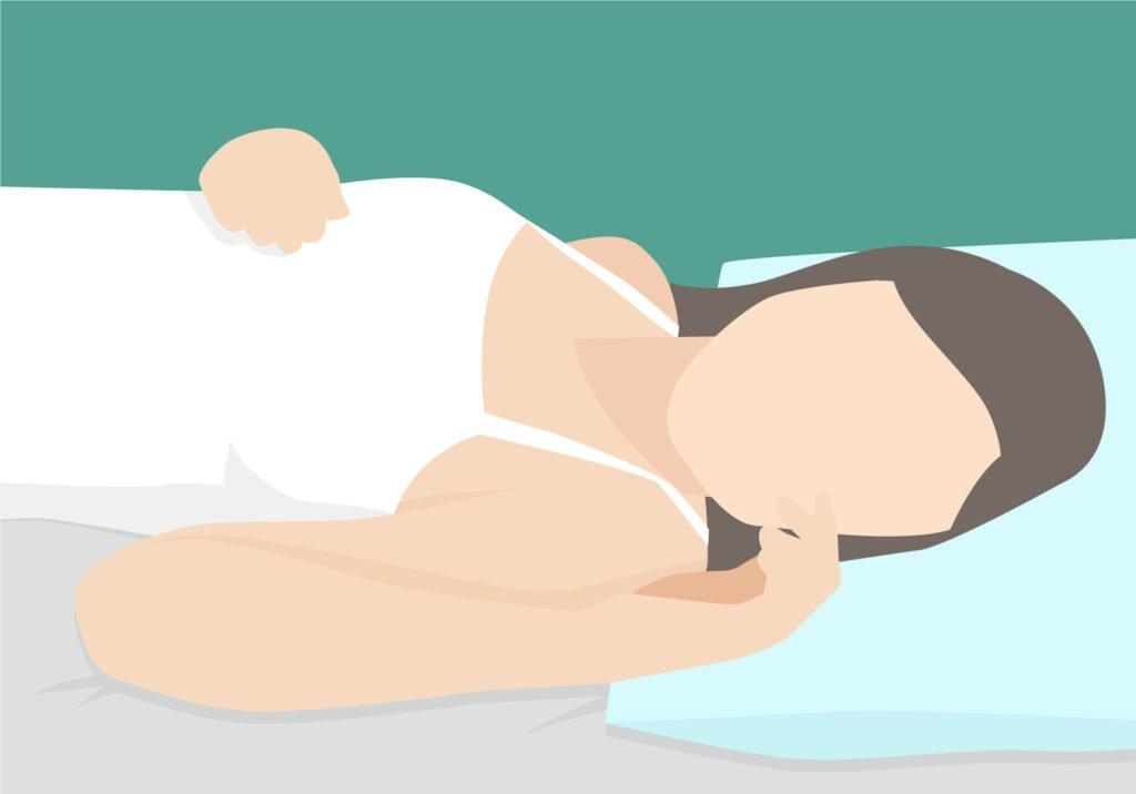 Die Schlafposition - Rückenschläfer - im Überblick