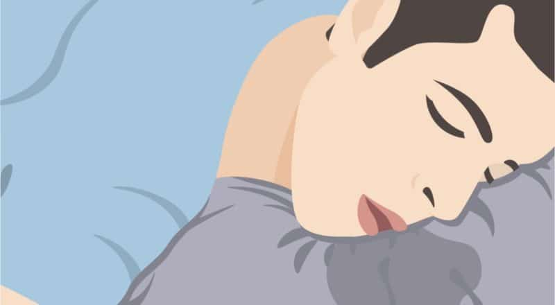 Sabbern im Schlaf: Es ist meist unbedenklich und keine Krankheit.