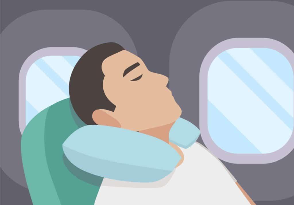 Schlafen im Flugzeug - Tipps für mehr Entspannung im Flugzeug