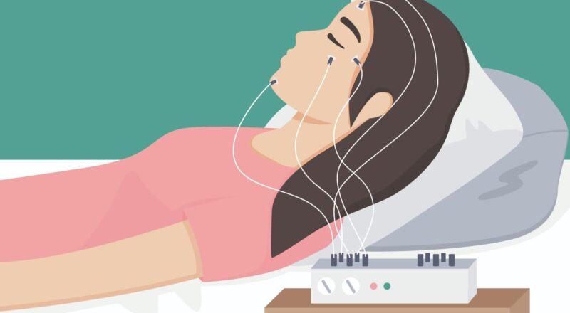 Schlaflabor: Im Schlaflabor werden die Ursachen von Schlafstörungen erforscht.
