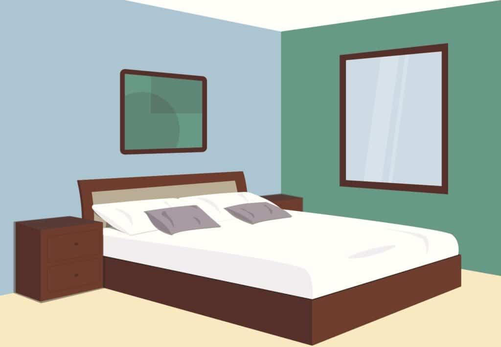 Schlafzimmerfarben: Sie können sogar Einfluss darauf haben, wie gut oder schlecht wir schlafen.