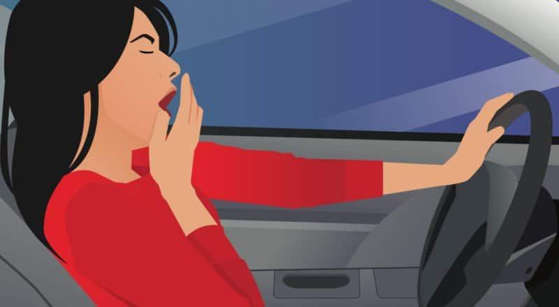 Sekundenschlaf - das plötzliche und kurze Einnicken kann lebensgefährlich sein