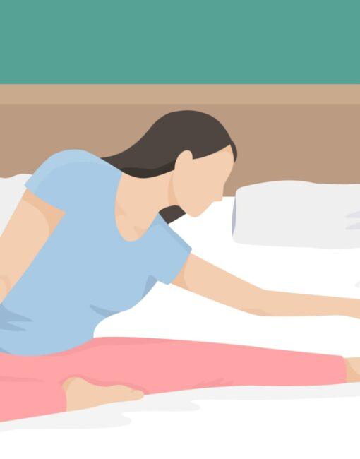 Sport vor dem Schlafen: Moderates Training am Abend kann die Tiefschlafphasen leicht verlängern.