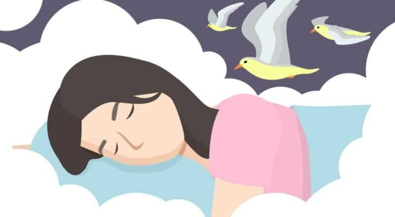 Träumen: Es handelt sich hierbei um subjektives Erleben während des Schlafens.